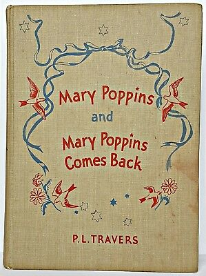 1939 MARY POPPINS RETURNS xmas movie FIRST COLOR ED Disney TRAVERS 2nd PRINTING