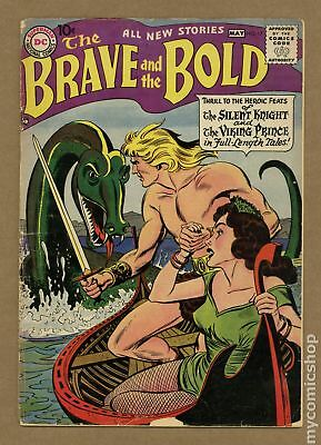 Brave and the Bold (1st Series DC) #17 1958 FR 1.0