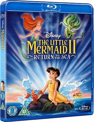 The Little Mermaid 2: Return to the Sea (2000) Blu-Ray Disney NEW Free Ship