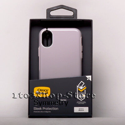 OtterBox SYMMETRY Hard Shell Snap Cover Case for iPhone X & iPhone Xs SKINNY DIP