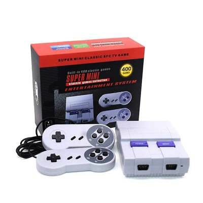 SUPER NES Classic Edition Console SNES Mini SFC Retro Built-in 400 Games Play US