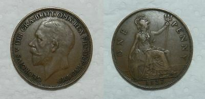 Great Britain :  George V Penny 1927