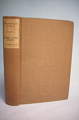 1913 Limited Edition JANE AUSTEN*NORTHANGER ABBEY*Winchester Edition*Illustrated