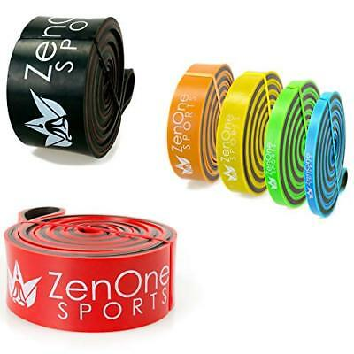 ZenBands Power Pull Up Resistance Band I Fitness-Band in 6 (5 - X-HEAVY (Rot))