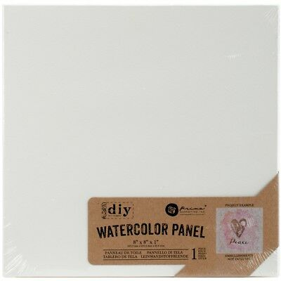 "Prima Diy Watercolor Canvas Panel-8""x8"""