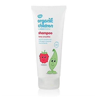 Green People Childs Berry Smoothie Shampoo - Organic