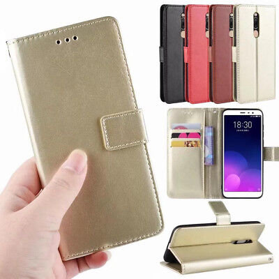 For MEIZU M6T Meilan 6T PU leather Wallet Case cover