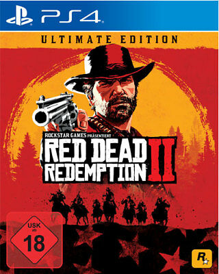 Red Dead Redemption 2 II Ultimate Edition     PS4     Playstation 4     NEU+OVP