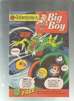 Adventures Of The Big Boy #396  Promotional Comic 1990