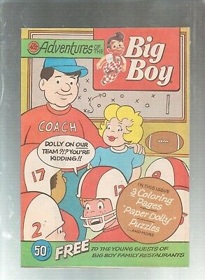 Adventures Of The Big Boy #407  Promotional Comic 1991