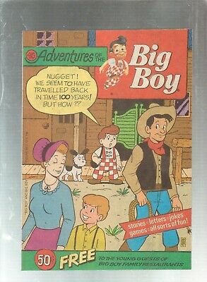 Adventures Of The Big Boy #415  Promotional Comic 1992