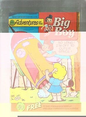 Adventures Of The Big Boy #416  Promotional Comic 1992