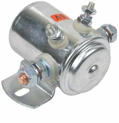 Continuous Duty Switch Solenoid Golf Cart Marine Industrial Winch 6 Volt 4 Term