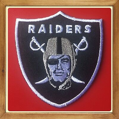 🇨🇦oakland Raiders Patch Embroidered Sew On/stick On Clothing/new 🇨🇦