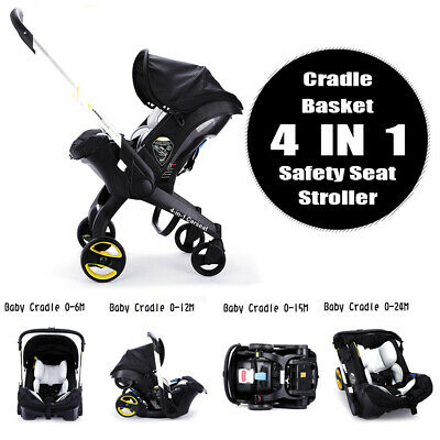 Portable fold bornBaby Trolley 3 4 in 1 Car Seat Stroller With Accesories Infant
