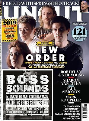 Uncut Magazine + Cd February 2019 (New Order, Dylan, Neil Young, Mark Knopfler)
