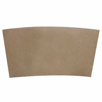 Hot Cup Sleeves (Cup Jackets) for 10-24oz Paper Coffee Cups, 50 Count Coffee...