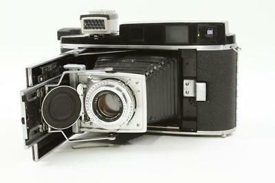 Used Polaroid Pathfinder 110A Camera ADAPTED to 4x5 FP-100C Film Pack SEE NOTES