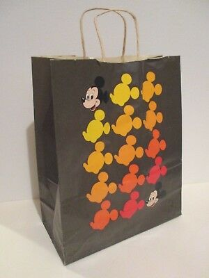 Vintage Disney 1980's Mickey Mouse Bell Telephone At&t Phone Store Paper Bag