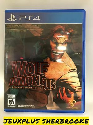 The Wolf Among Us (Sony PlayStation 4, 2014)