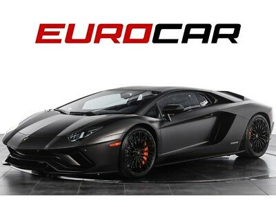 2018 Aventador S LP 740-4 ($482,655.00 MSRP) $482,655.00 MSRP! Factory Matte Color 'Marrone Apus', Transparent Engine