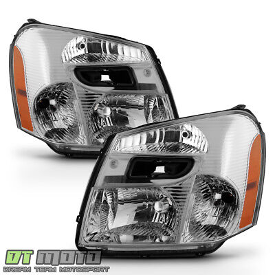 2005 2006 2007 2008 2009 Chevy Equinox Headlights Headlamps Replacement 05-09