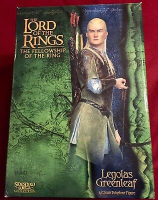 Legolas Greenleaf 1/6 Scale Figure Sideshow Weta - Lord of the Rings Fellowship