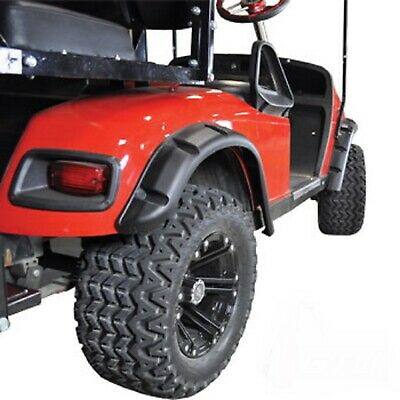 EZGO TXT Golf Cart 1996-Up Fender Flare Set of 4 Black