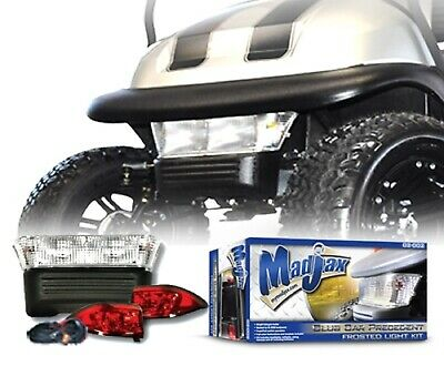 MadJax Club Car Precedent Golf Cart 2004-2007 Frosted Lens Light Kit | 02-002