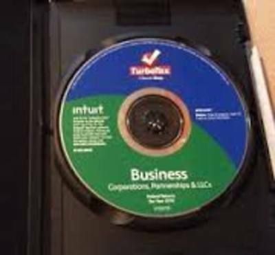 1999 Intuit TurboTax For Business! Corporation, Partnership & LLC's  Free Ship!