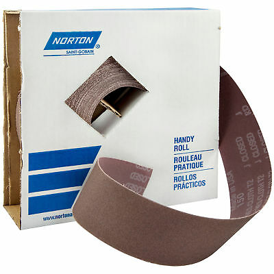Norton 66261126299 Abrasive Roll, J Weight, 80G / Price is for 1 EA