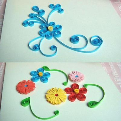 Quilling Tools Template Mould Board Tweezer Pins Slotted Tool Kit Paper BB