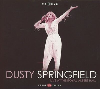 Dusty Springfield - Live At The Royal Albert Hall (CD+DVD) CD (2) Union Sqr NEW