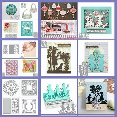 Mixed Cutting Dies Diy Scrapbooking Paper Cards Kids Handcrafts Decor Die-Cutter