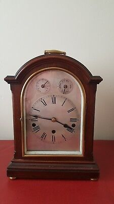 Wilhelm & Muller Co  Westminster chime bracket clock