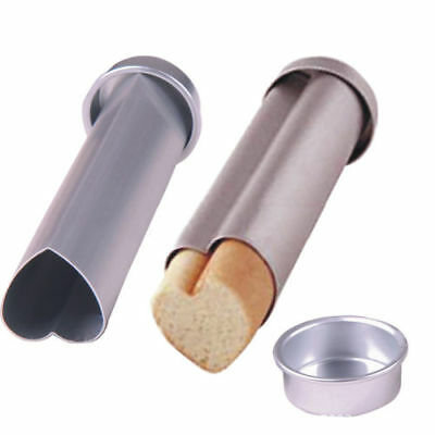 1Pc Durable Bread Cutter Bakeware Toast Molds Metal Tube Breads Kitchen Supplies