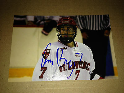 Gavin Bayreuther SIGNED 4x6 photo St. Lawrence College / DALLAS STARS