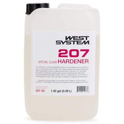Boat Marine West System 207 Special Clear Hardener Part 2 1.45 Gallon