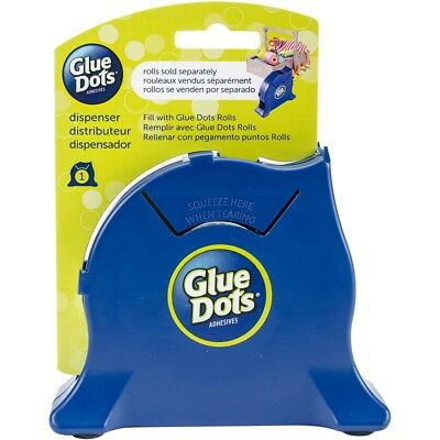 Glue Dot Desktop Roll Dispenser-navy