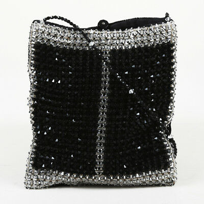 Giorgio Armani Beaded Velvet Evening Bag