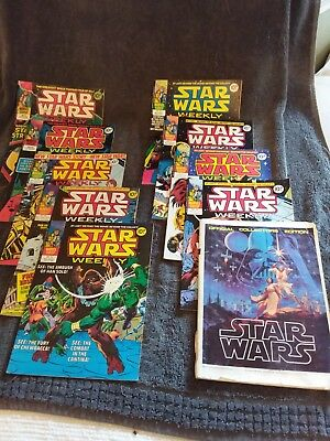 A Selection of Star Wars Comics And Magazines (inc 2 posters) 1977 - 1978