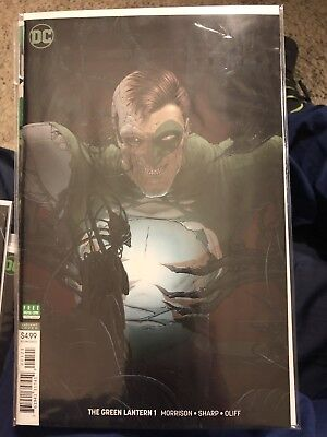Green Lantern #1 Nm Dc Comics 2018 Grant Morrison Frank Quietly Variant Cover