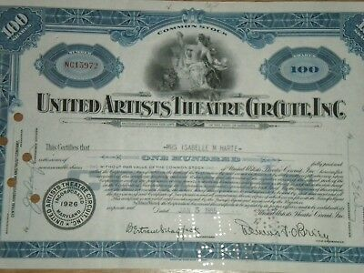 United Artists Theatre Circuit,Inc.1940's-50's  Free Shipping