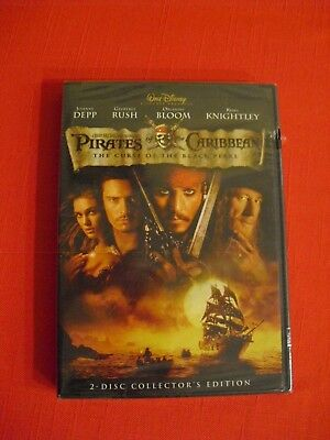 Pirates of the Caribbean: The Curse of the Black Pearl (DVD, 2003, 2-Disc Set)