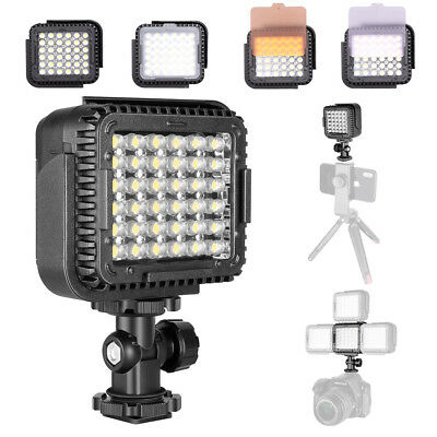 AU Neewer CN-LUX360 5400K Dimmable LED Video Light Lamp for Canon Nikon Camera