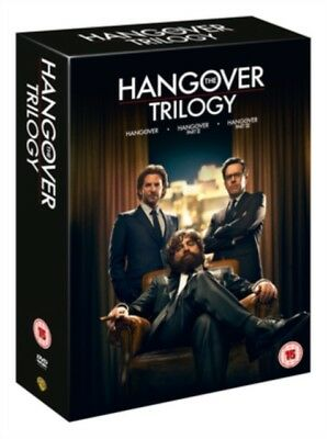 The Hangover - Trilogy (3 Films) Movie Collection DVD NEW dvd (1000416151)
