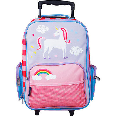 Wildkin Kids Rolling Suitcase 6 Colors Kids' Luggage NEW