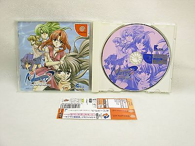 Dreamcast NEVER 7 the End of Infinity with Spine Card Sega Japan Game dc