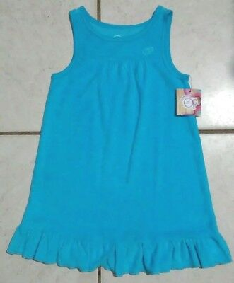 NWT Toddler Girls OP Blue Tank Top Dress Cover Up Size 4T