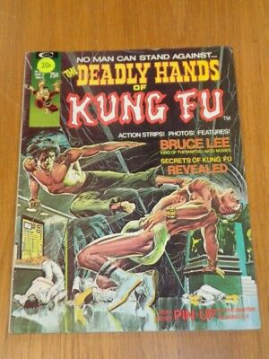 Deadly Hands Of Kung Fu #1 April 1974 Curtis Us Magazine< =